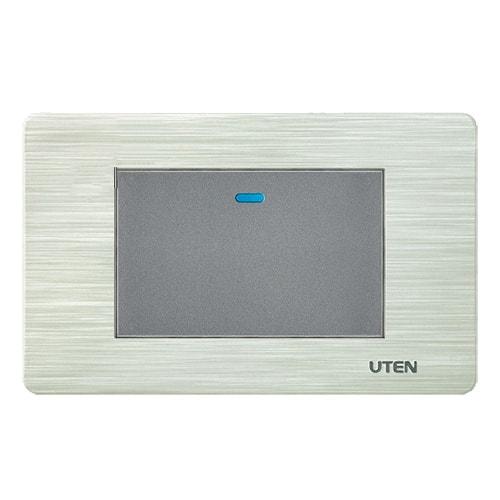 Công tắc đơn 1 chiều UTEN V7.0 LED