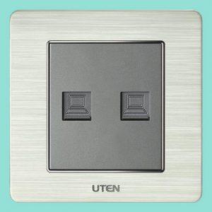Ổ cắm đôi mạng UTEN V6.0